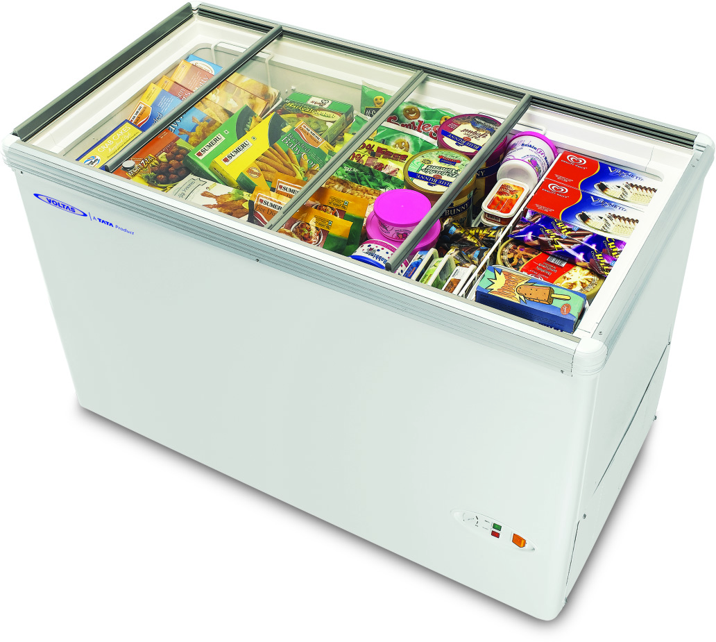 Voltas glass door refrigerator deep freezer glass top freezer island freezer - Glass door refrigerator freezer ...